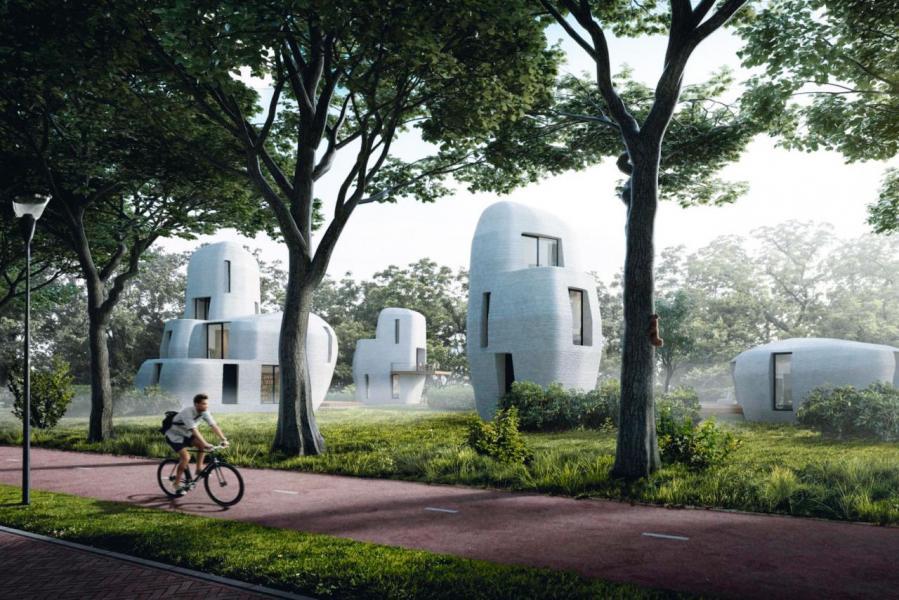 荷蘭建築公司Van Wijnen計畫打造出全球第一個3D打印房屋的社區。