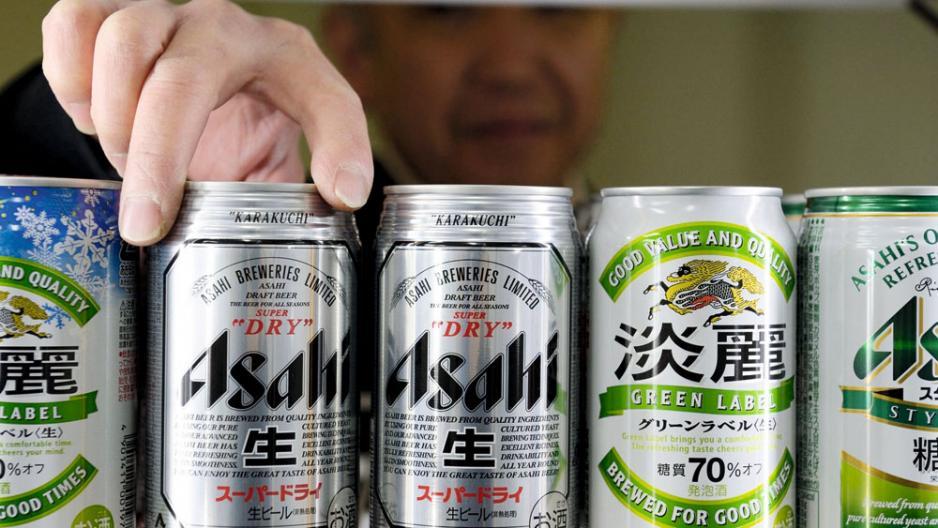 Asahi為確保品牌及通路,以八千八百億日圓收購東歐啤酒事業。