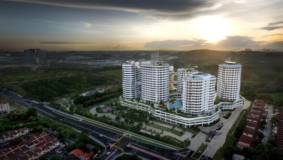 佔地十三點五英畝的O2 Residence,提供六座總數五百零八個單位,而其中D1座更特別預留予海外買家,現正在香港進行展銷。