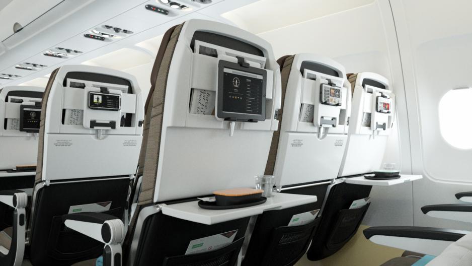 阿提哈德航空推出重點經濟艙轉型計劃,該計劃將首先對 23 架窄體 Airbus A320 和 A321 進行機艙升級與翻新。