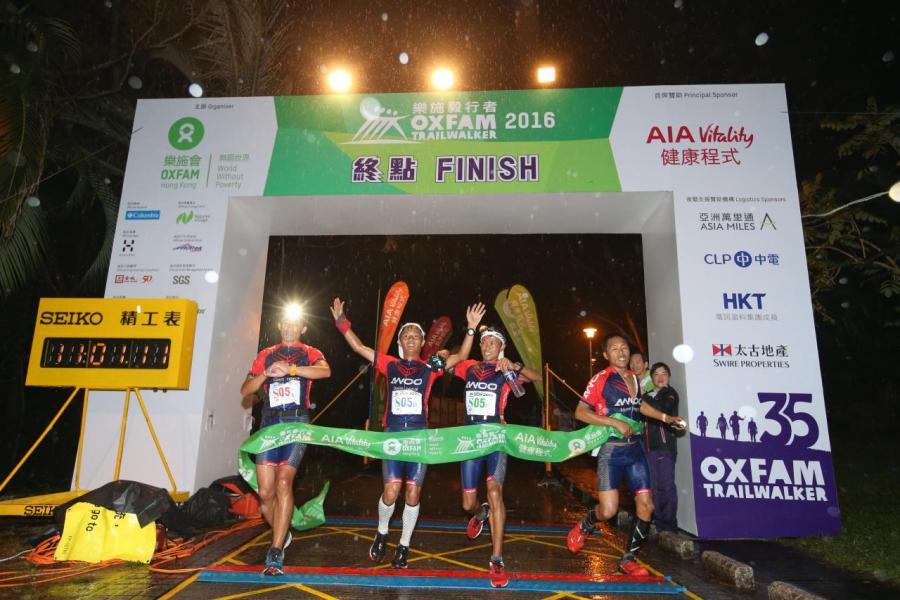 上屆「毅行者」賽事,結果「AWOO Team Nepal」以11小時01分贏得首名。