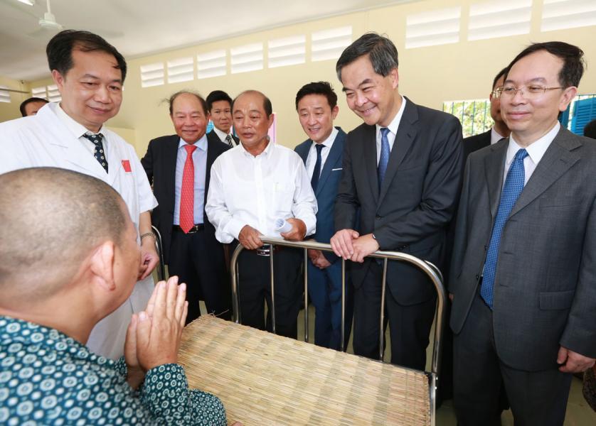 「一帶一路消除白內障致盲行動」在柬埔寨展開。