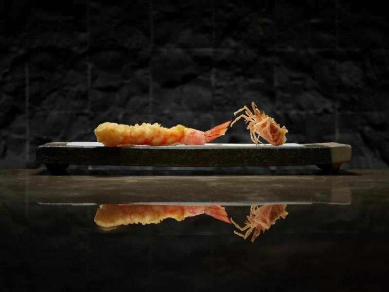 斑節蝦天婦羅