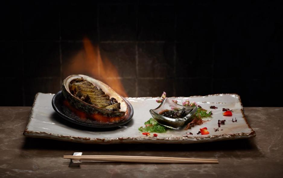北海道鮑魚鐵板燒