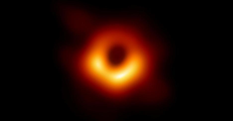 圖片來源: Event Horizon Telescope,National Science Foundation