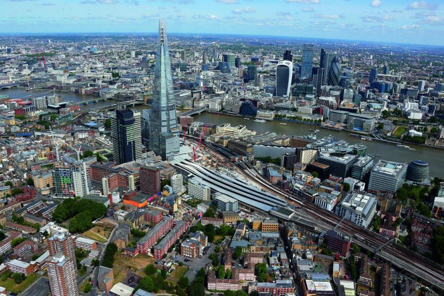 英國是最早採用PPP模式發展基建的國家,圖為倫敦市。
