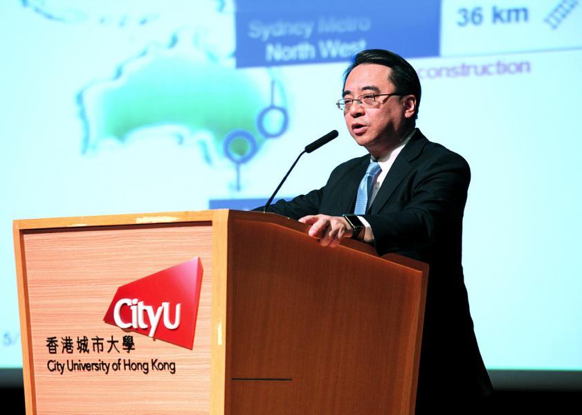 港鐵車務及中國內地業務常務總監金澤培