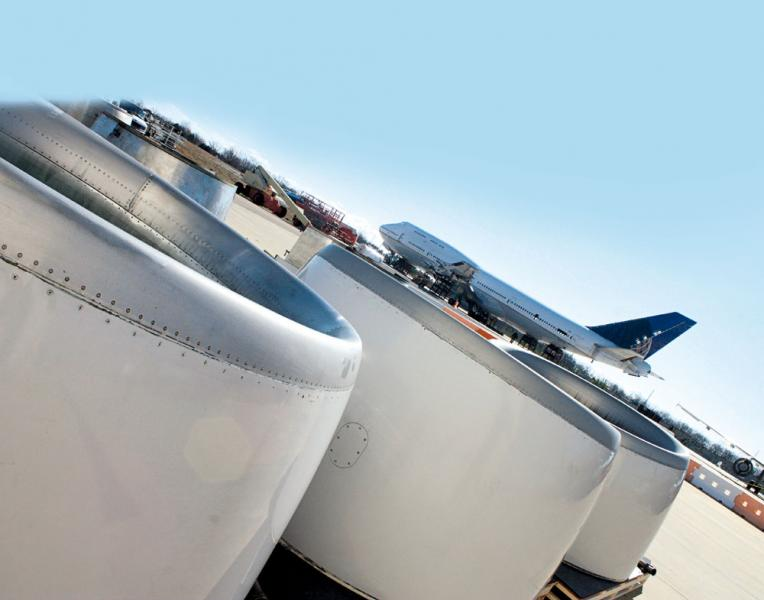中國每年約有100架退役飛機運往歐美地區作拆解或貨機改裝。