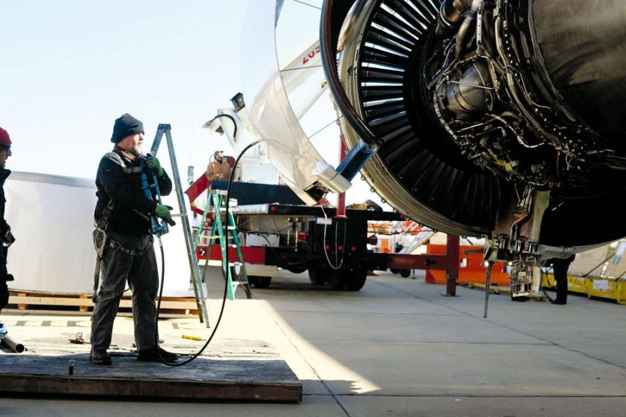 UAM在飛機拆解方面擁有先進技術和經驗。