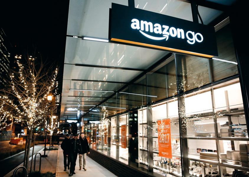 亞馬遜推出的無人超市Amazon Go。