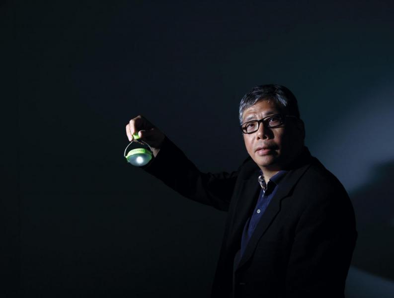 Nokero Solar總經理兼聯合創辦人尹智鴻。