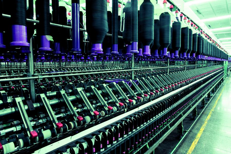 印度的紡織工業十分發達。