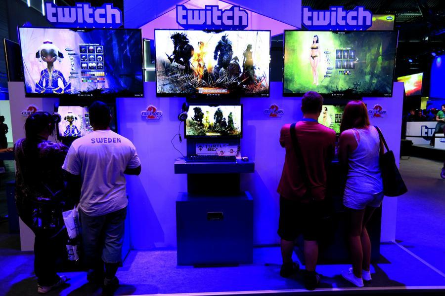 亞馬遜收購現場直播視頻平台Twitch,進軍電競業。
