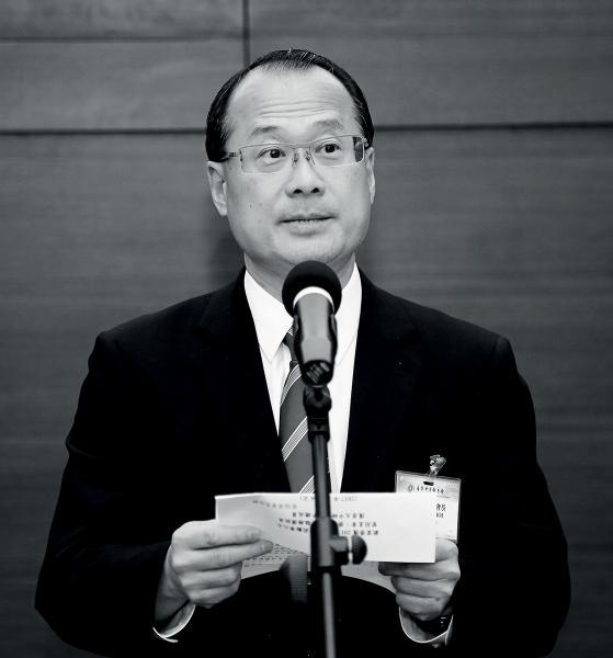 「香港融入大灣區內,我們到外地,就可代表十三億人說話, 而不只是代表香港七百萬人。」