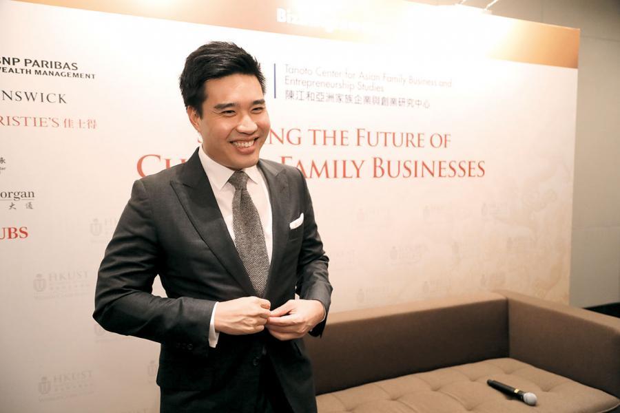 余仁生貿易(香港)董事總經理余在啟稱,「富不過三代」是全球家族企業都要面對的挑戰。
