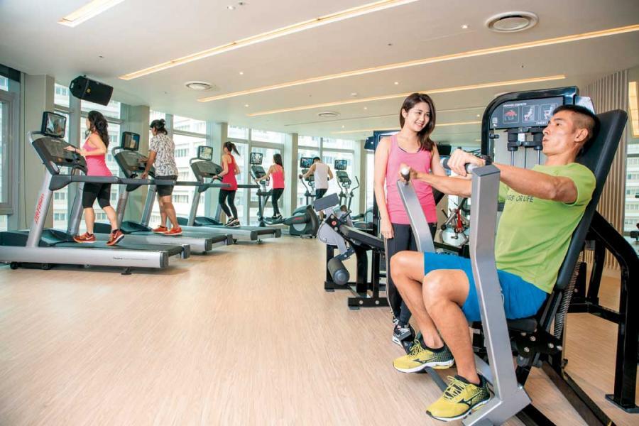 中國熱愛運動的人口不斷增加。
