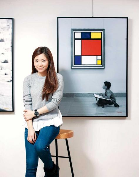 九十後本土藝術家李楚洳(Samantha)以自創的「相中畫」在國際藝壇嶄露頭角,現在更推出自家的腕錶系列。