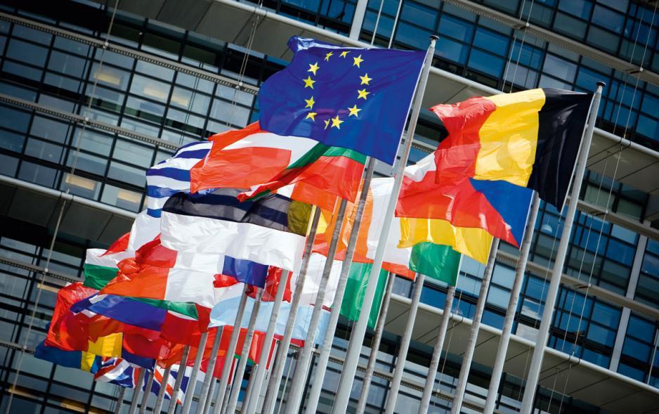 特朗普的強硬政策同時惹來歐盟不滿。