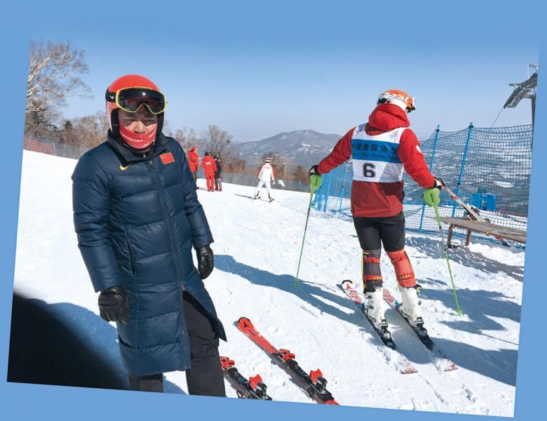 國家隊長期訓練,為參加2022年冬奧運會 奮鬥。