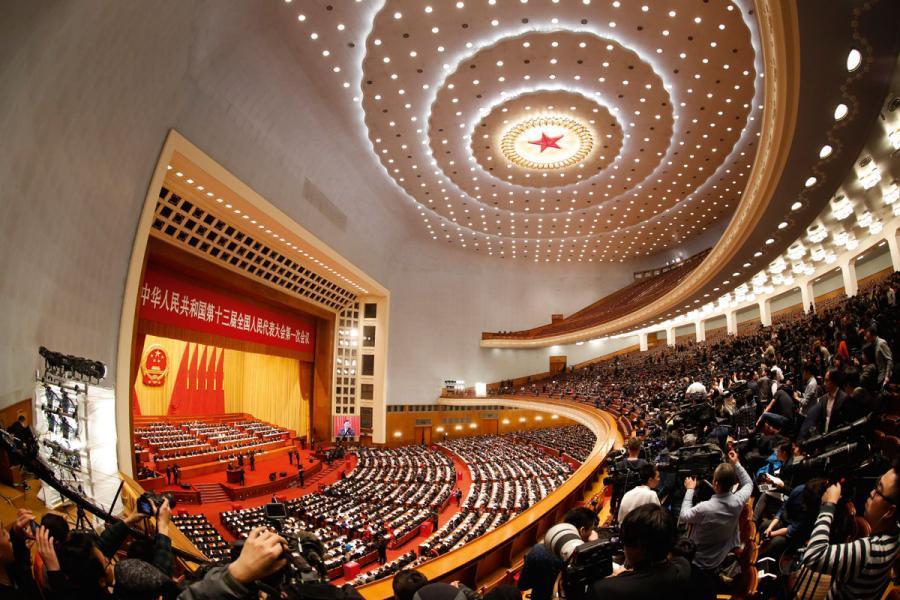 習近平是繼毛澤東及鄧小平後,再有領導人冠名入憲