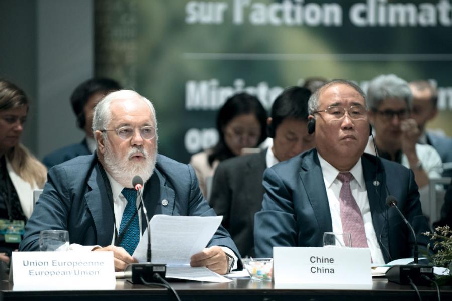 中國是世界上最大的碳排放國家,近年亦肩負起對環保的承擔,參與不同的國際氣候會議。