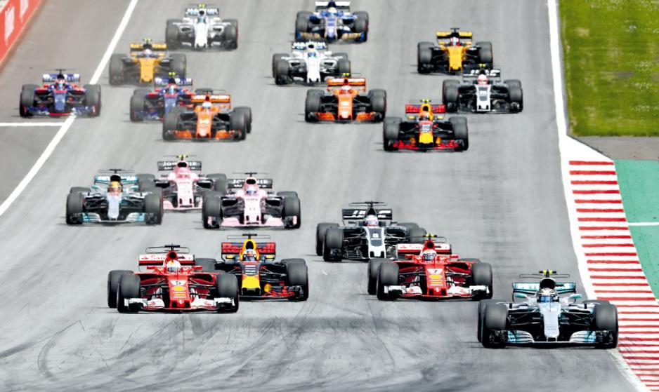 F1是與商業關係最緊密的運動。