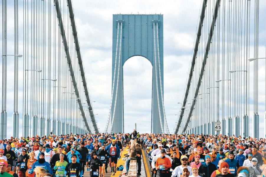 紐約馬拉松是世界最大馬拉松運動之一。