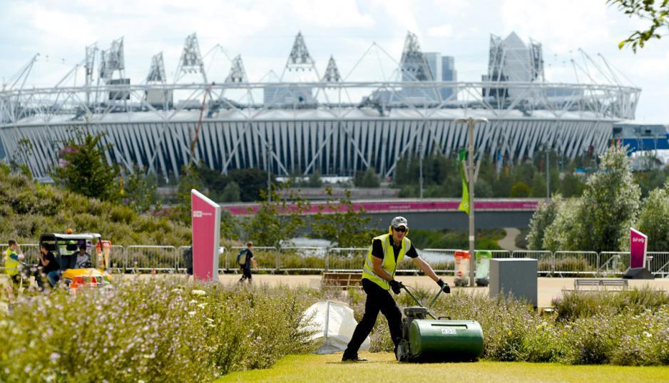 倫敦奧運會令倫敦東部的工業區得到活化。
