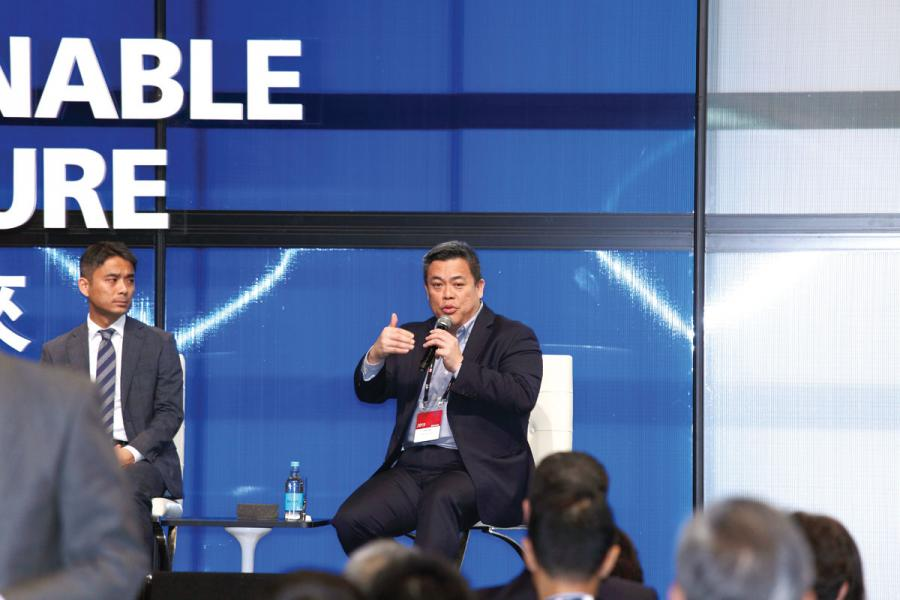 TNG金融科技集團創始人兼主席江慶恩。