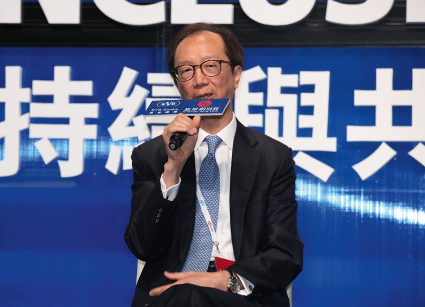 南豐集團董事長及行政總裁梁錦松。