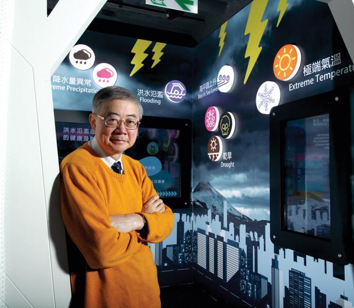 中文大學AXA 安盛地理與資源管理學教授及 環境、能源及可持續發展研究所所長劉雅章 指,香港需嚴陣以待應對氣候變化。