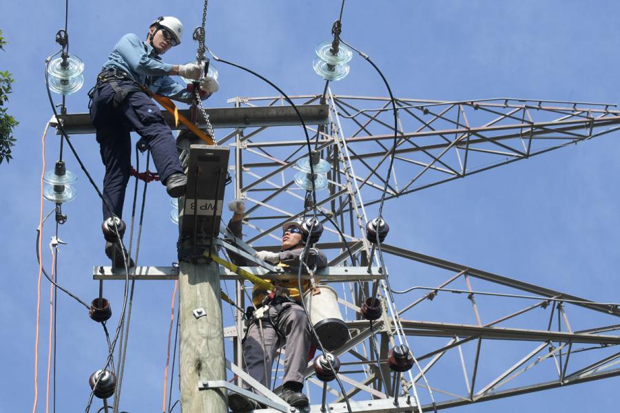 熱浪來襲會令電力需求大增。
