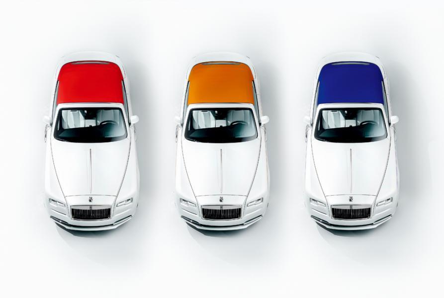 Rolls Royce Dawn Inspired by Fashion
