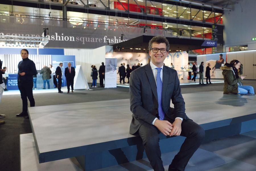 意大利國家鞋履製造商協會的常務經理Tommaso Cancellara。