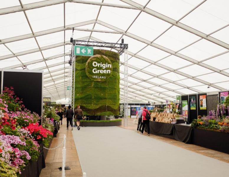 由食品局推動的Origin Green認證計劃。