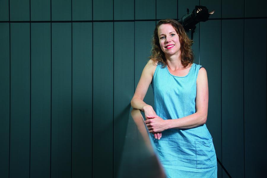 荷蘭Mijksenaar創意總監Fenne Roefs。