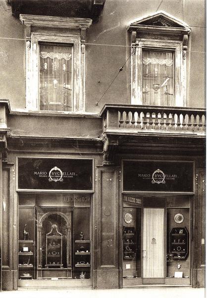 Mario Buccellati於1919年在意大利米蘭開設的首間門市。