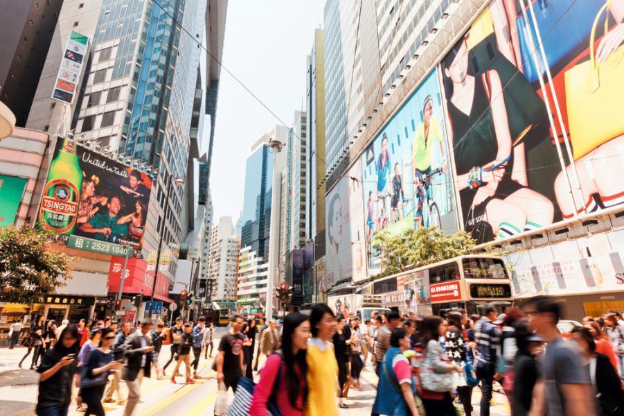 本港零售統計數字連跌24個月後,止跌回升。