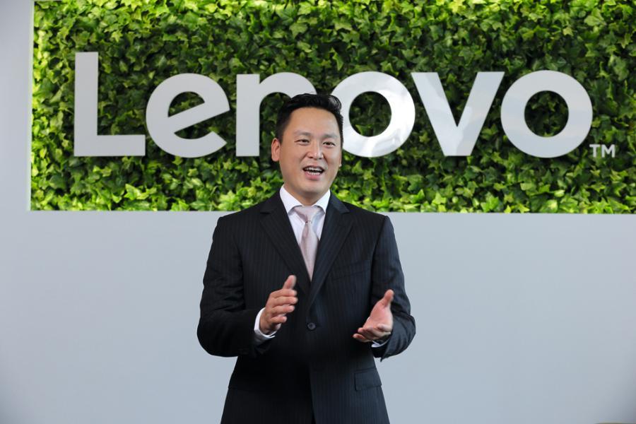 Lenovo香港台灣及澳門地區總經理陳泰麟。