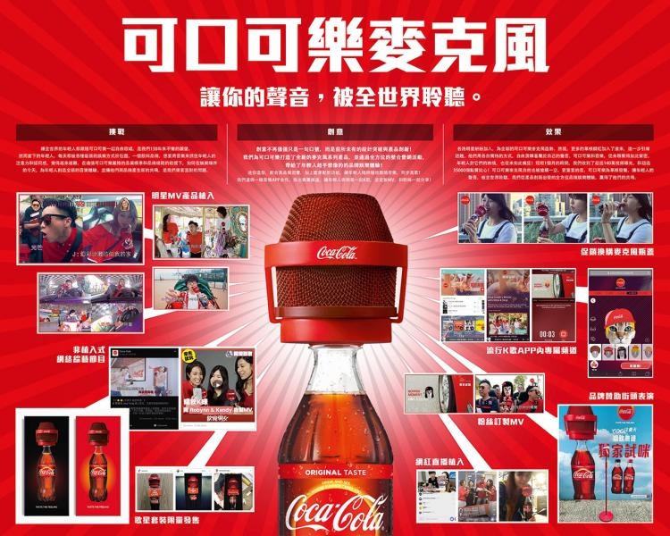 黃光銳表示,近年為一飲品進行品牌推廣投放於多元平台。