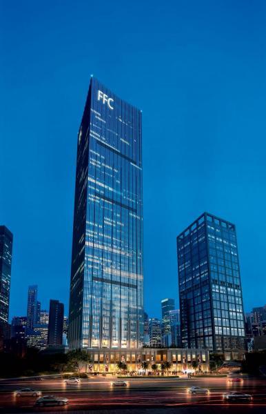 集團於重慶財富中心FFC,成為當區的地標之一。