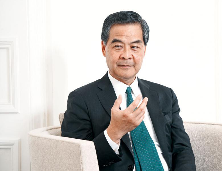 從競選特首到今天貴為全國政協副主席,梁振英都強調民心相通,而這也正正是「一帶一路國際合作香港中心」的主要工作。