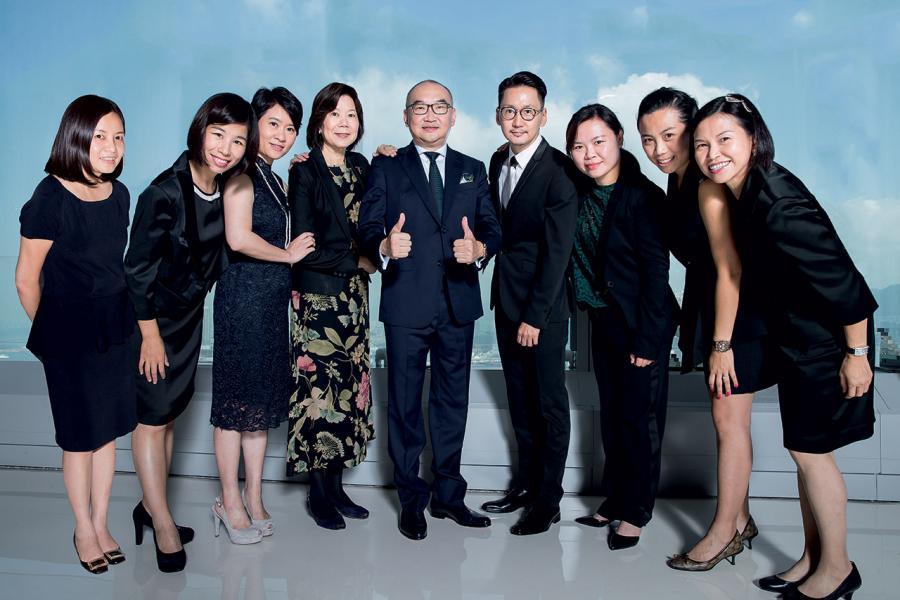 Peter Lee團隊特色以銀行財富管理專才為主組成。