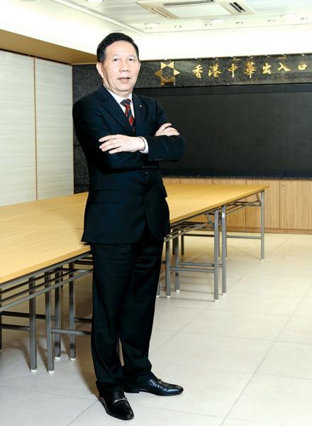 香港中華出入口商會會長張學修回顧了香港回歸二十年來的各種機遇。