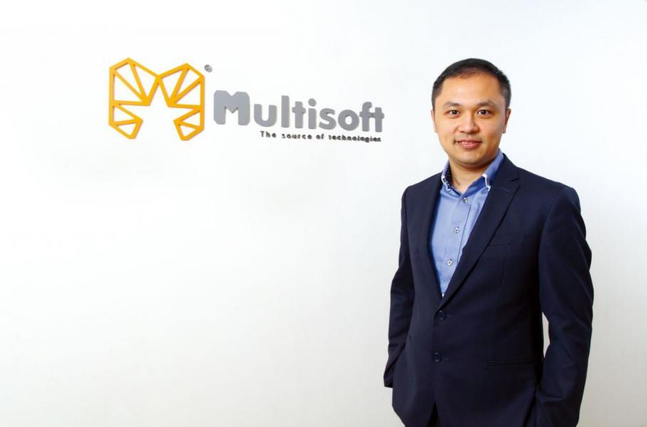 Multisoft聯合創辦人兼董事胡偉雄(Vincent)。