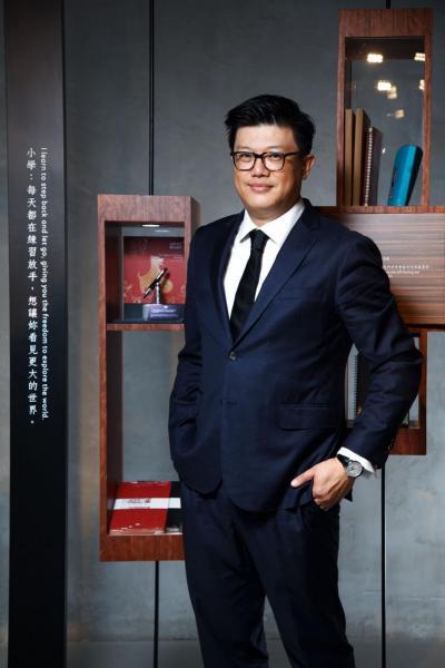 萬寶龍北亞區總裁張鍇((Daniel Chang)。