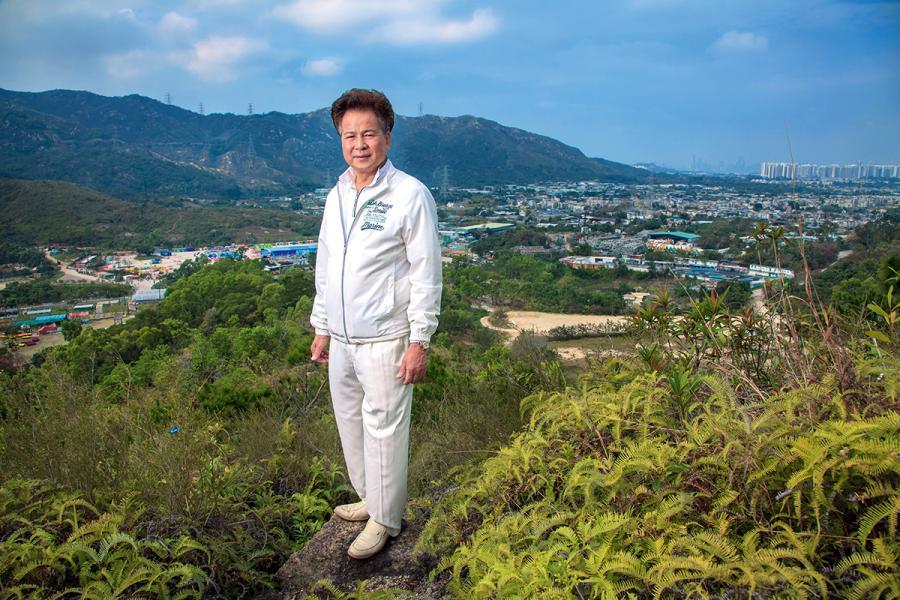 元朗大棠有機生態園董事長梁福元。