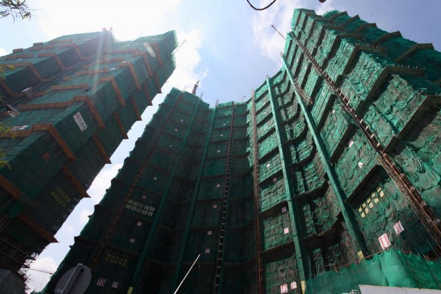 在短短8個月,晉海已漲價三成。