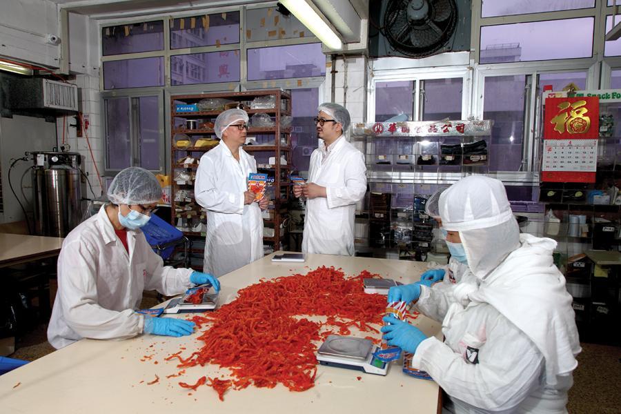 華園第二三代同心協力,為家族企業的發展共同努力。