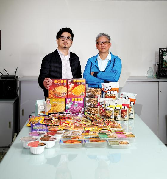 華園食品(香港)「畢濟棠  (Brandon) 董事總經理(右)」「 畢耀之  (Darren) 執行董事(左)」